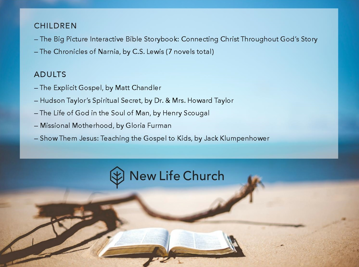 Pastor's Picks for Summer Reading Website no heading.jpg