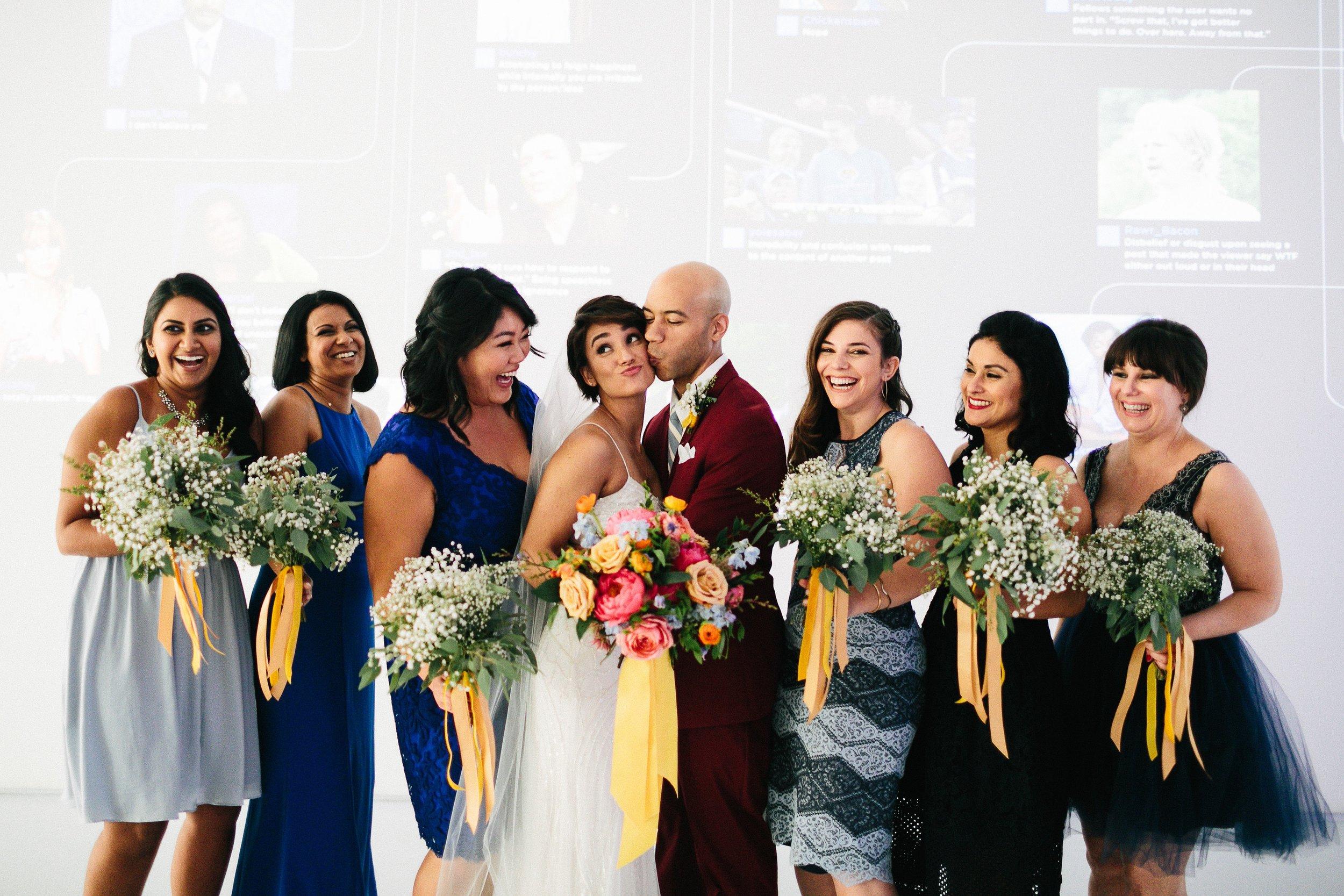 sachi rose florist moma wedding