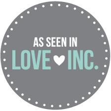 Love inc. Mag Badge