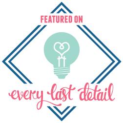 Every Last Detail Blog Logo