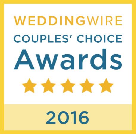 Wedding Wire Couple's Choice Awards Badge