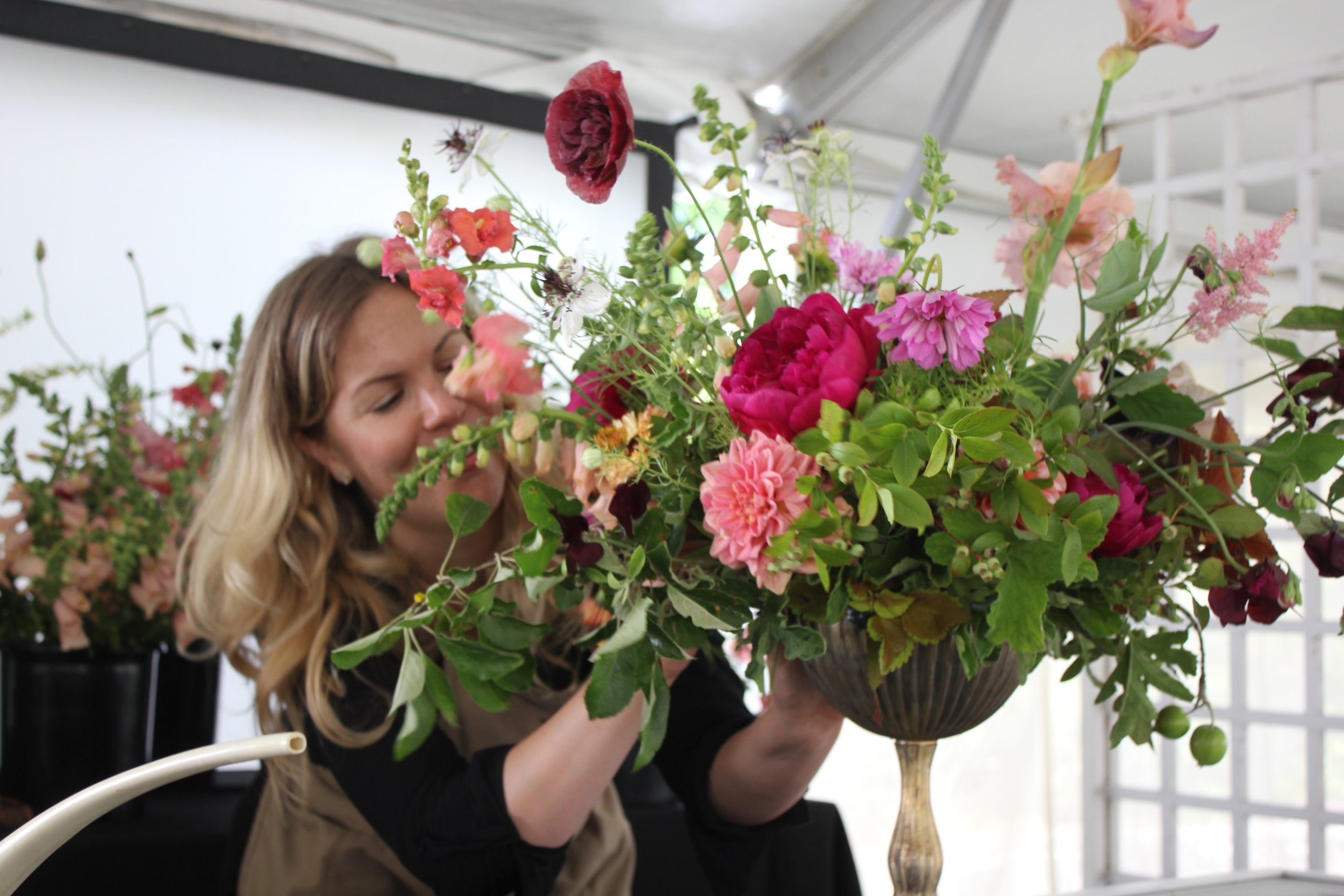 Sachi Rose Florist at Newport Flower Show