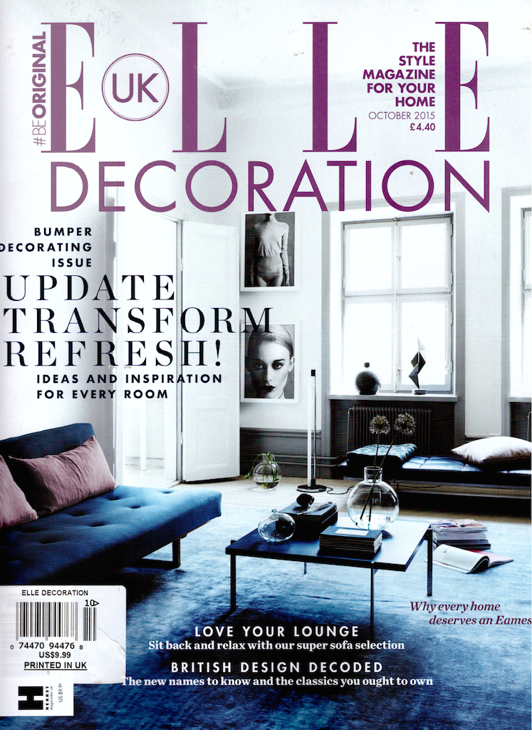 Elle Decor UK / Castello di Potentino / 21st Century Design Line