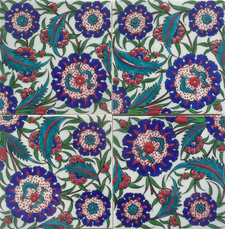 GÜLISTAN / two by two tiles / 30 x 30cm