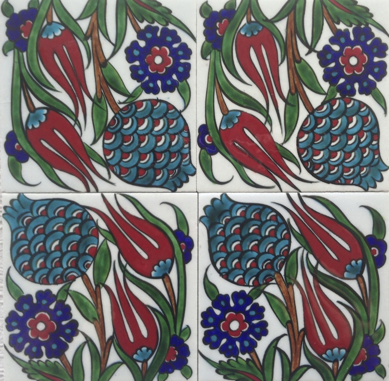 ZEYNEP  / White / two-by-two tiles / 20 x 20cm