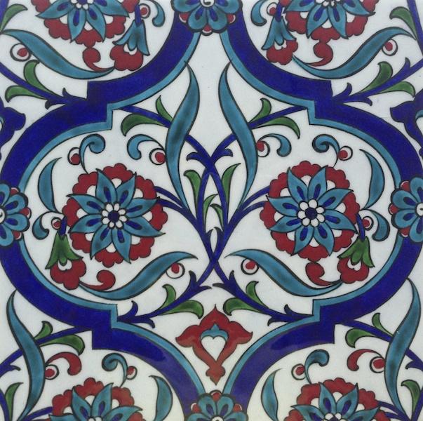 DEFNE / single tile / 20 x 20 cm