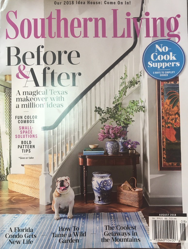 Souther Living / August 2018 / MAZAR fabric