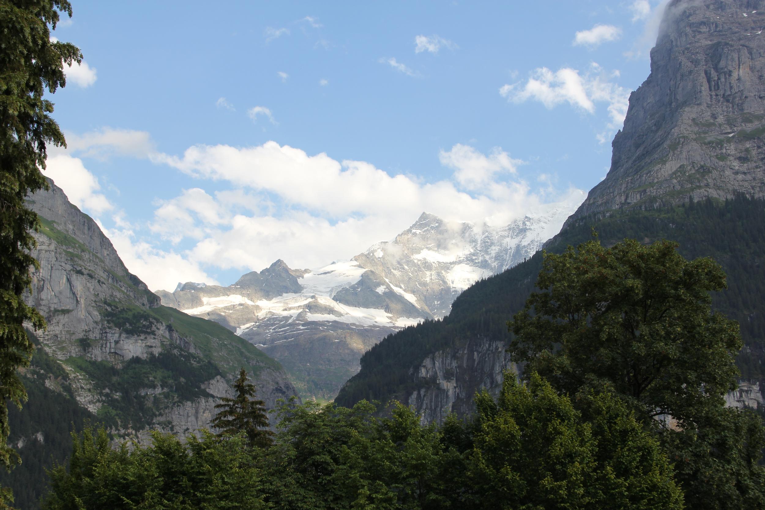 Eiger Mountain Range (Swiss Alps) - Grindelwald, Switzerland