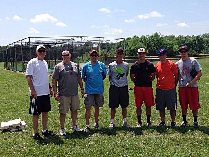 Dominican Republic Missionaries (L-R): Mike Moore, Mark Foutch, Keith Ward, Joel Hawkins, Mitch Carriger, Joel Mason, Cole Haggard