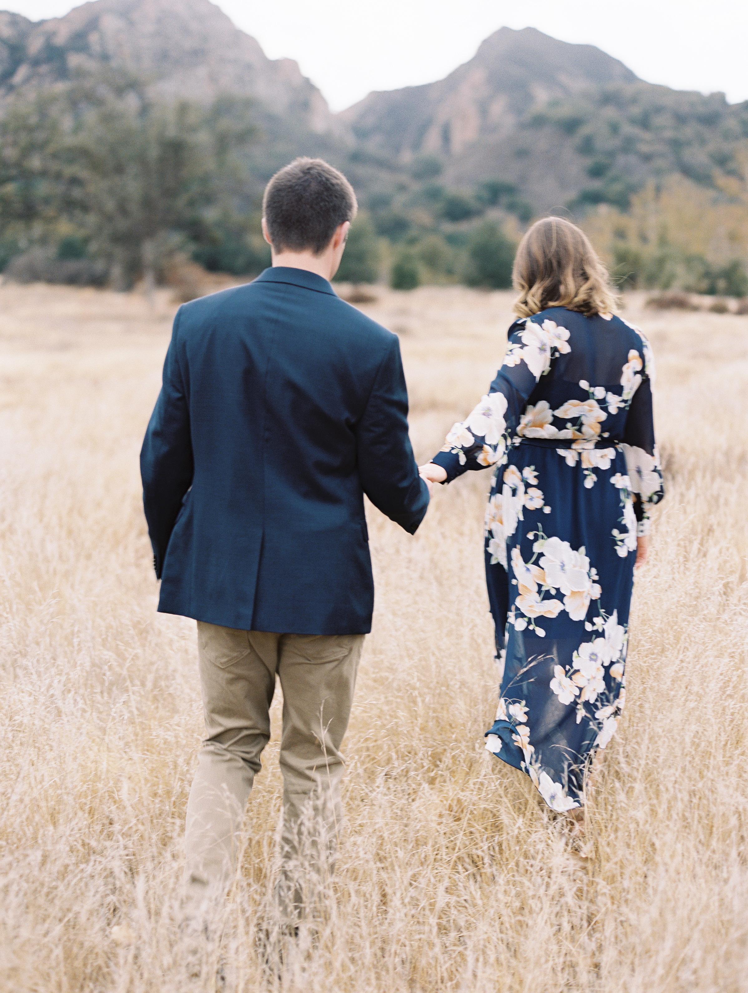 Samantha & Jonathan's Malibu Creek Engagement Session