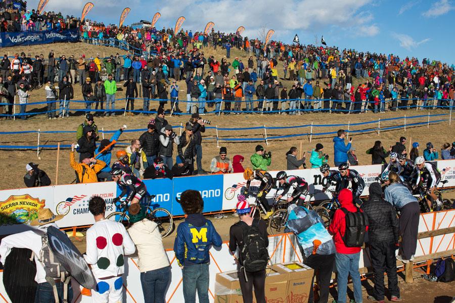 Great crowds. Photo: Bo Bickerstaff