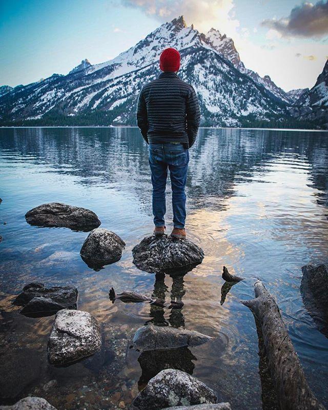 The Grand Teton.   Jenny lake at Grand Teton National Park, USA #grandtetons #grandtetonsnationalpark #usa #nps #mountainlife #mountains #intothewild #jennylake