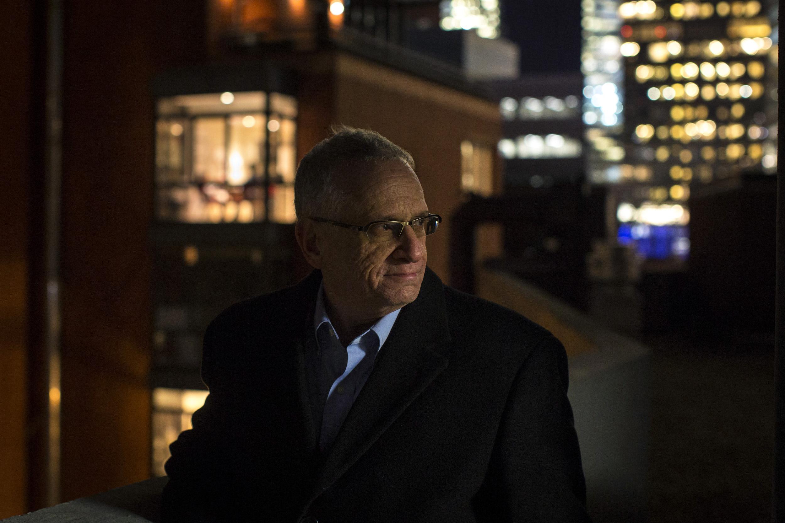 Irwin Reiter, a Weinstein Company Executive, in Lower Manhattan.