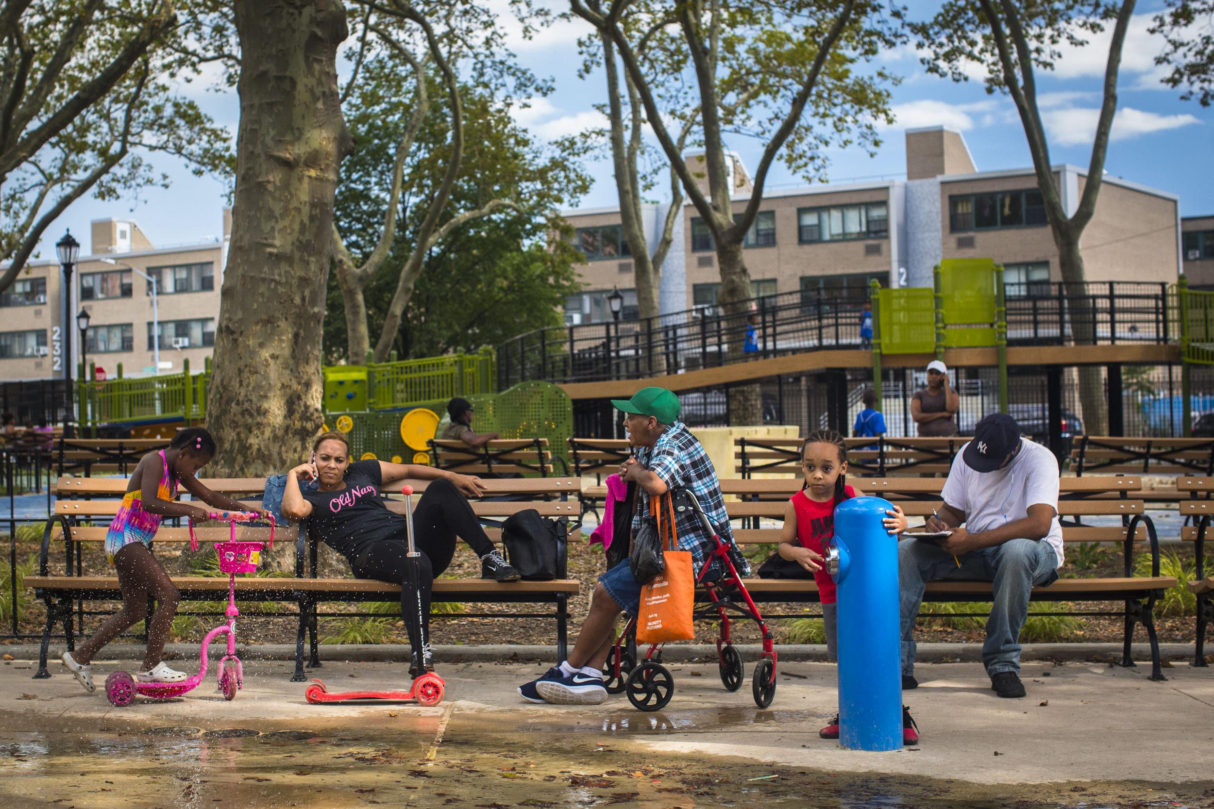 Betsy Head Park, Brooklyn.