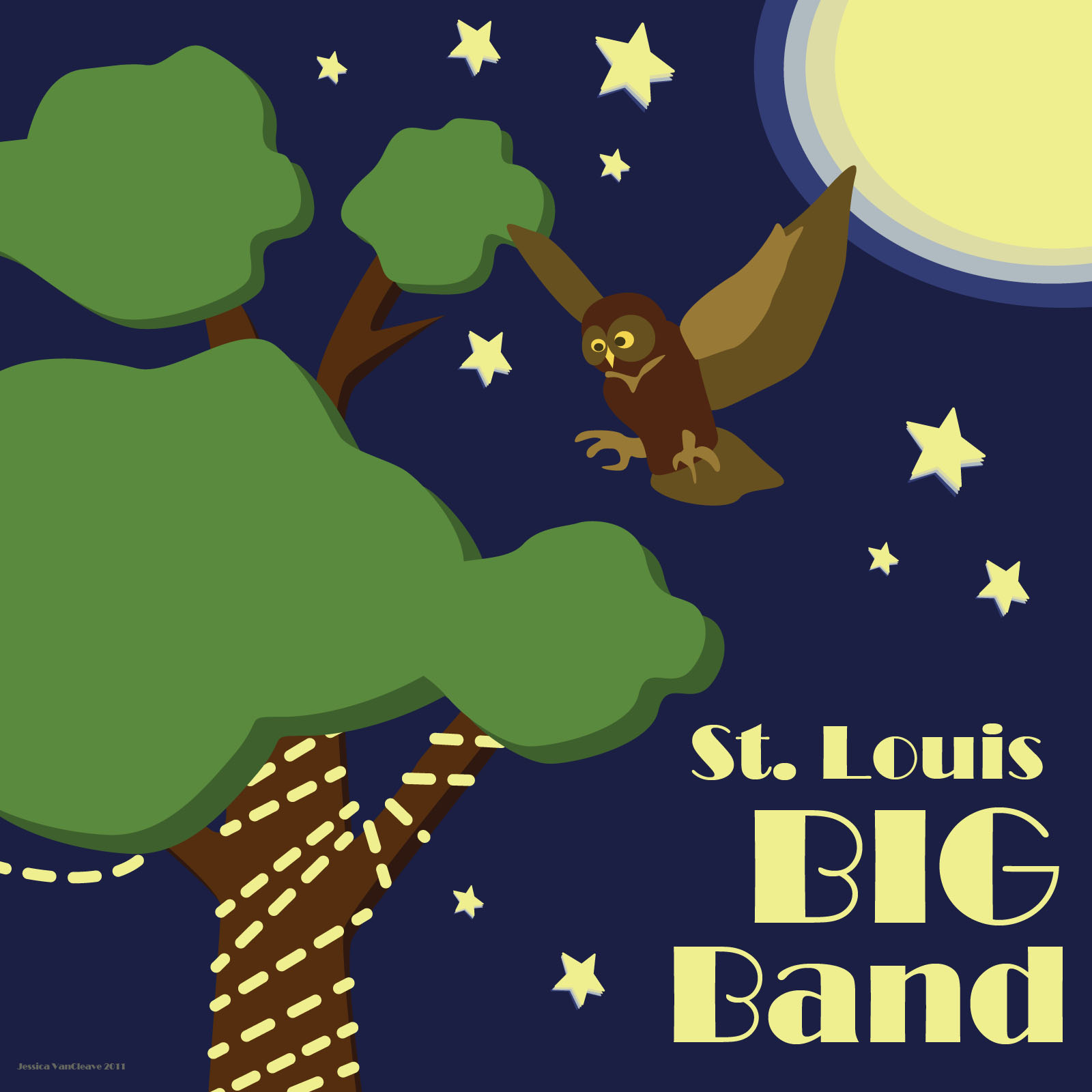 St. Louis Big Band Album Art