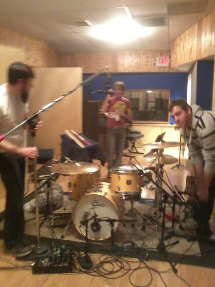 Drum Set at STLBB Recording Session