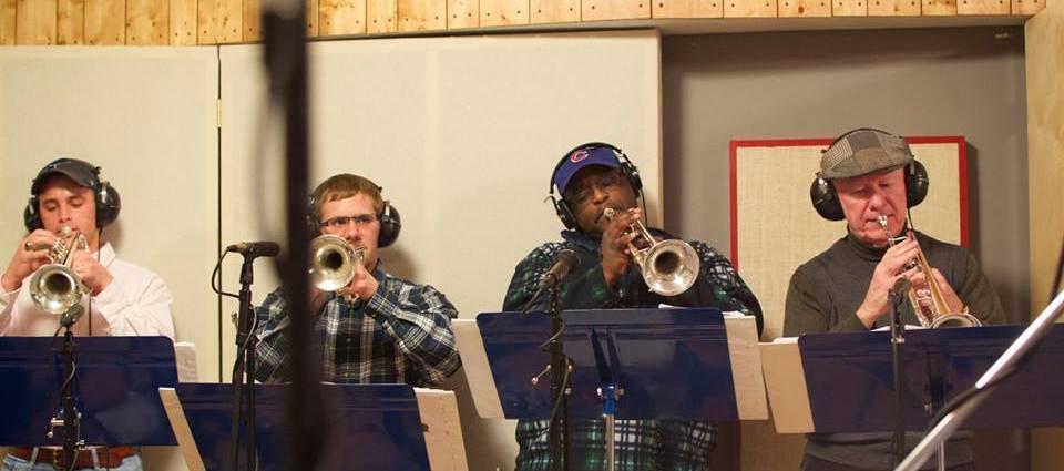 STL Big Band Members In Studio