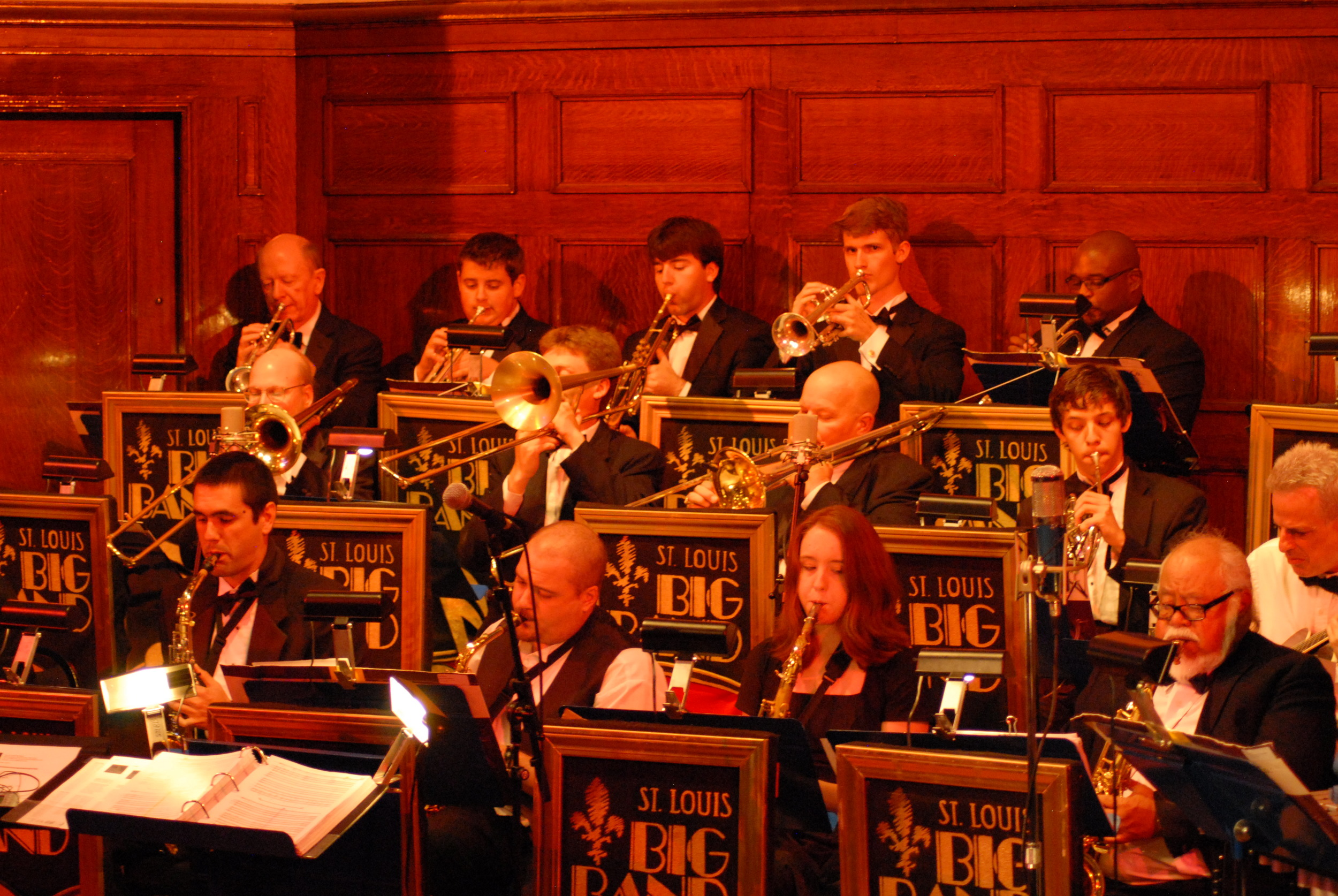 ST. LOUIS BIG BAND AT SHELDON