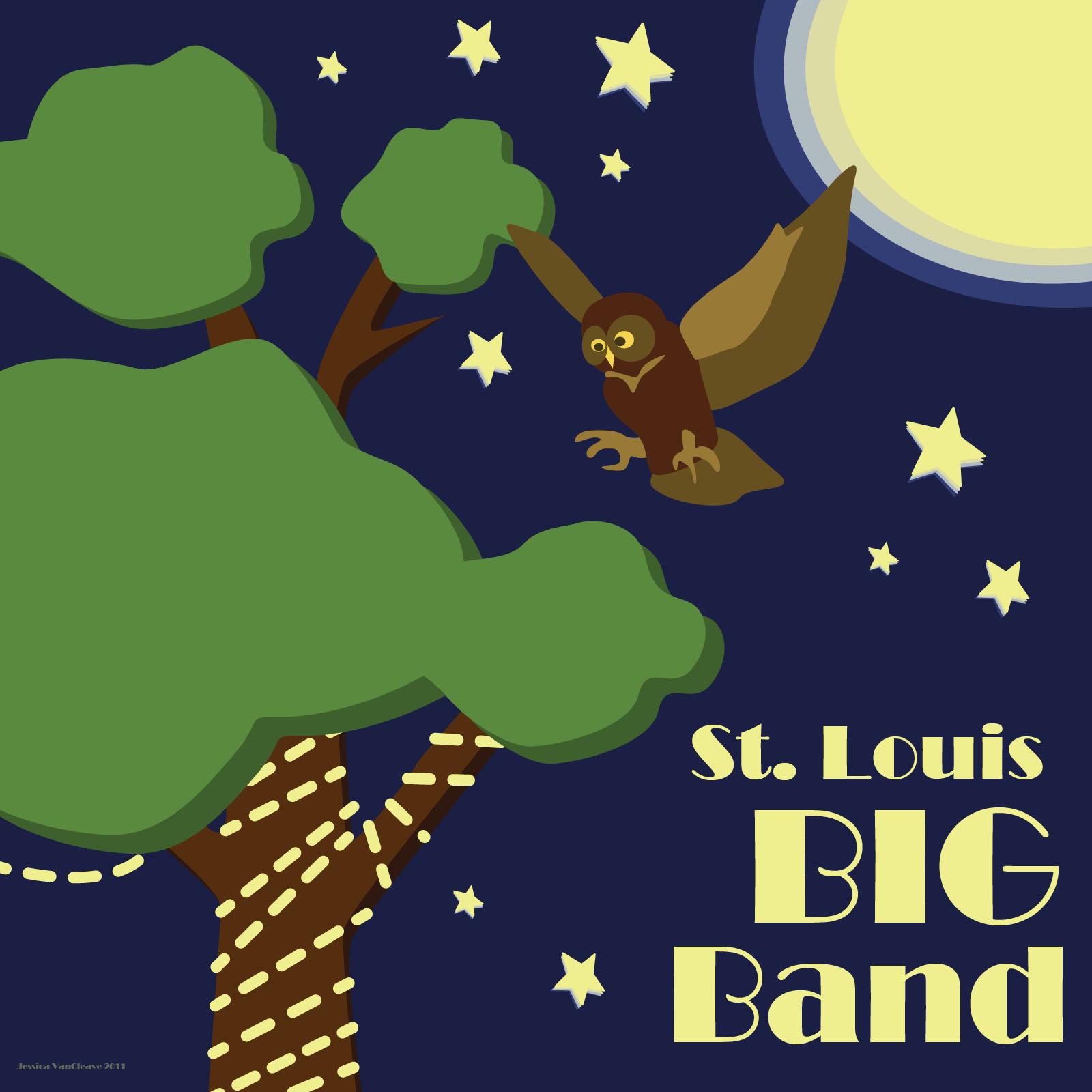 ST LOUIS BIG BAND ALBUM ART
