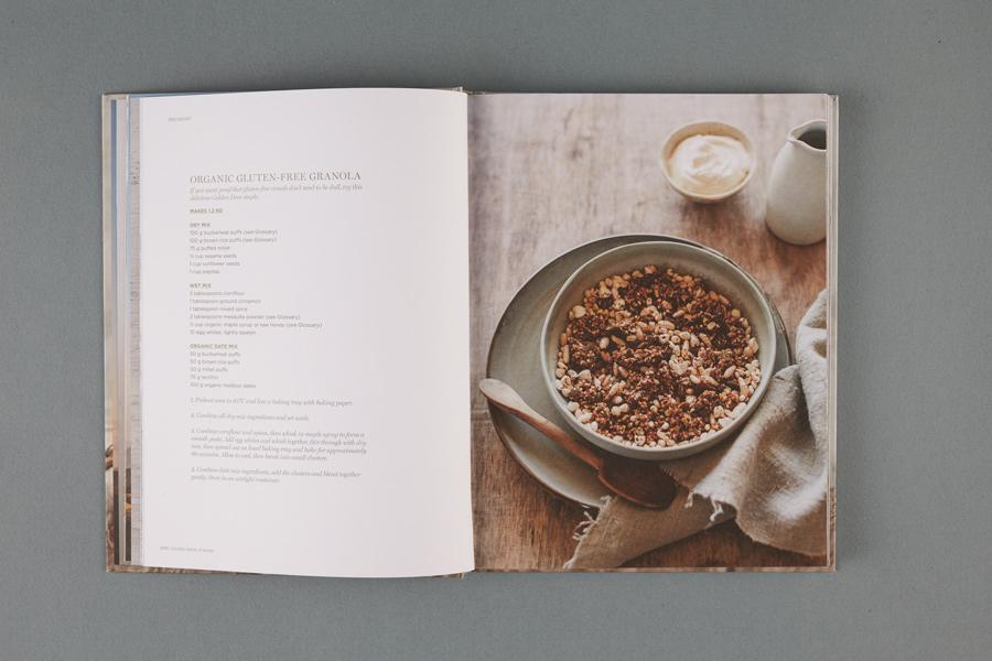 SELF PUBLISHED + DESIGNED : Golden Door at Home by Golden Door + Photography Luisa Brimble