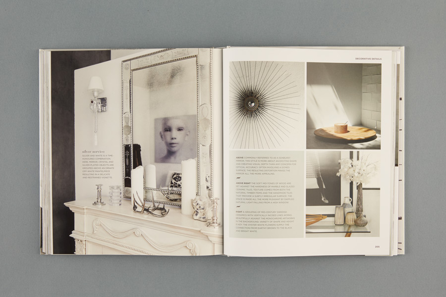 DESIGNED : WHITE ROOMS   By Karen McCartney / David Harrison + Photography by Richard Powers + Published by Lantern