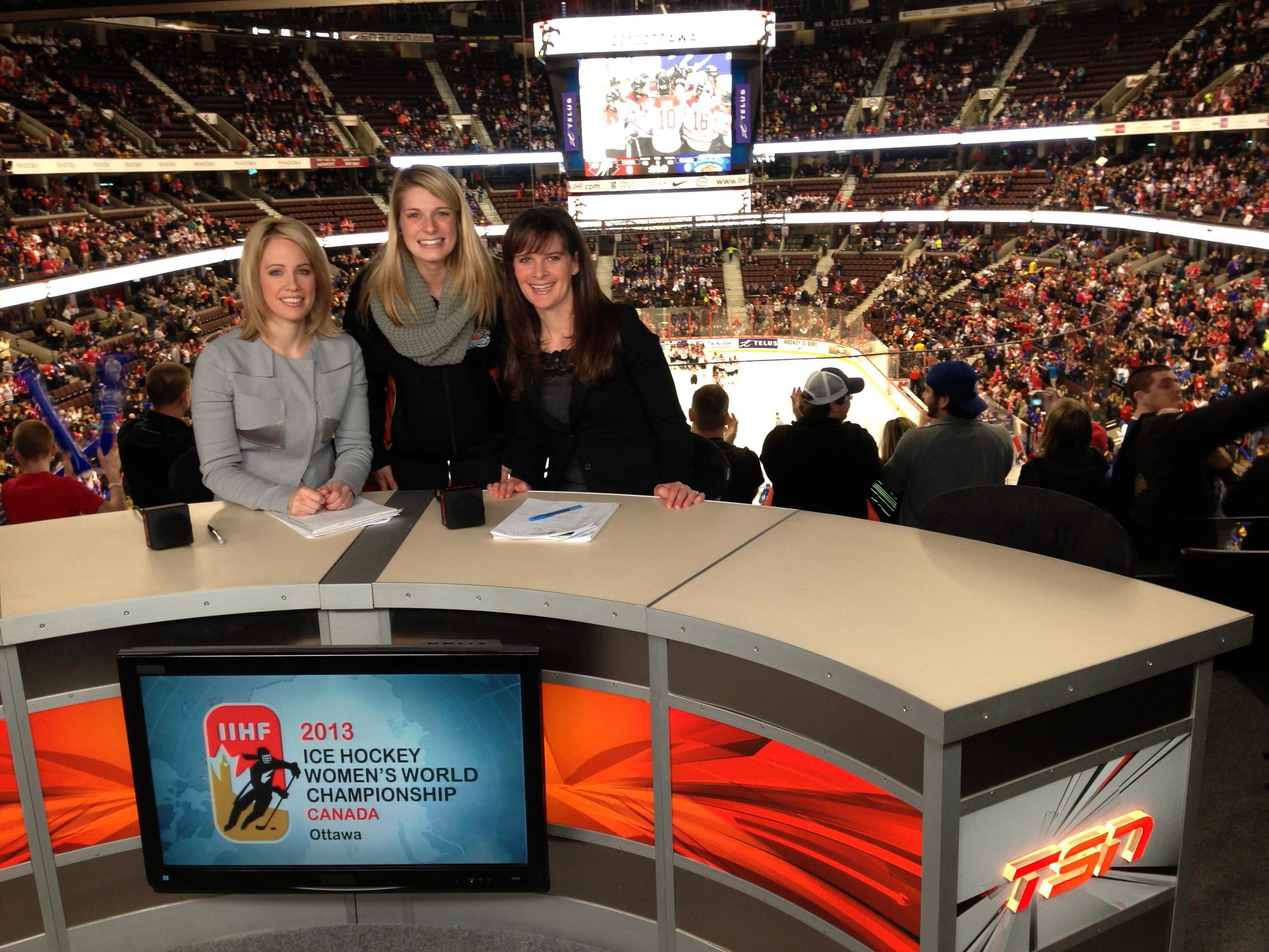 TSN - 2013 IIHF Women's World Hockey Championship from Ottawa