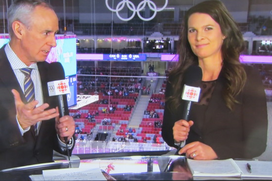 CBC 2014 SOCHI Winter Olympic Coverage w Ron MacLean