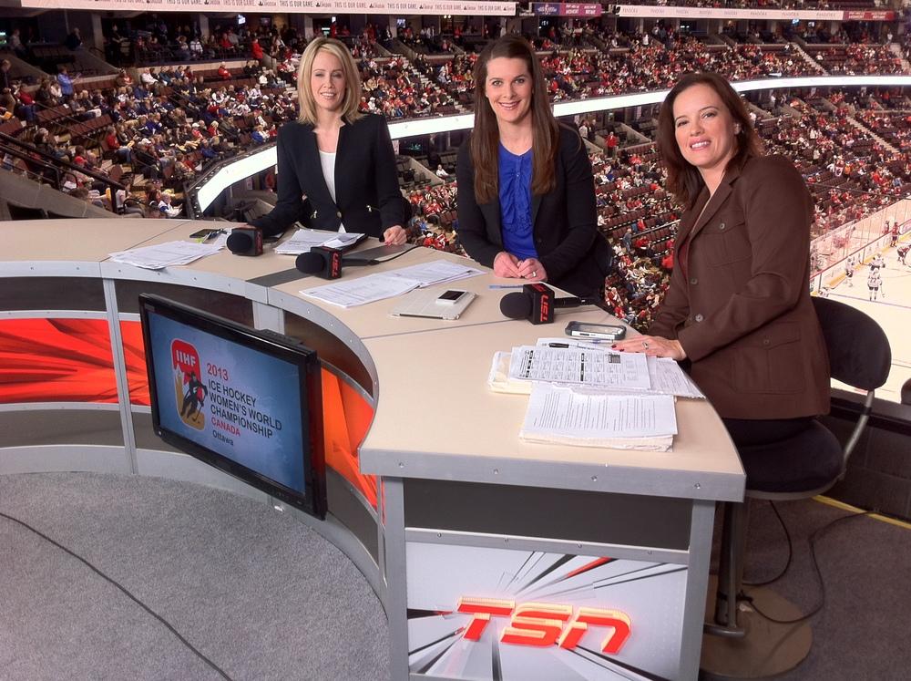TSN - IIHF Women's World Championship - LIVE from Ottawa