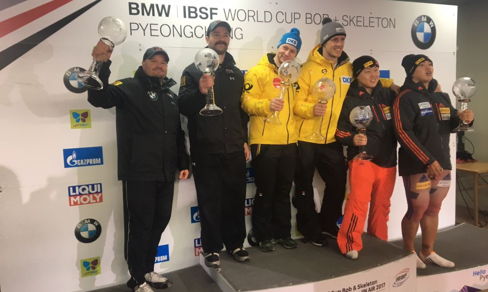 2016-17 IBSF 2nd Overall World Cup Team in 2-man