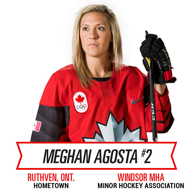 Meghan was named as an Alternate Captain for the 2018 Winter Olympic team.