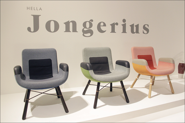 East River Chair от Hella Jongerius для Vitra