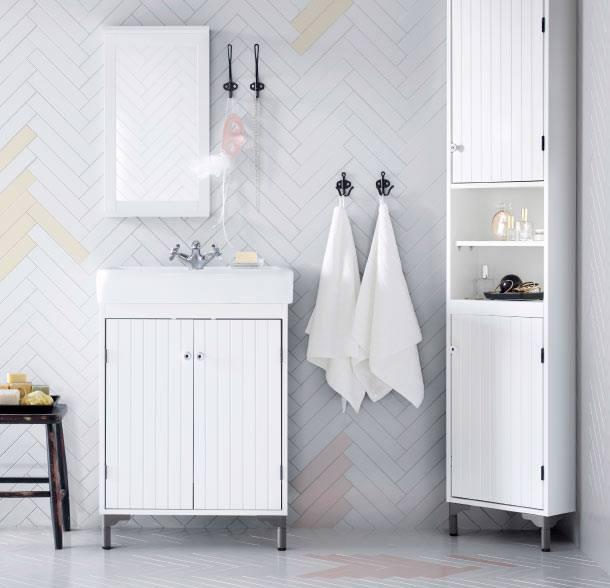 Новая коллекция мебели для ванной прекрасно подойдет для интерьера в стиле лофт или прованс.