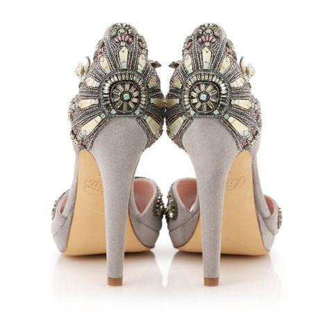 Винтажные туфли в стиле Ар Деко