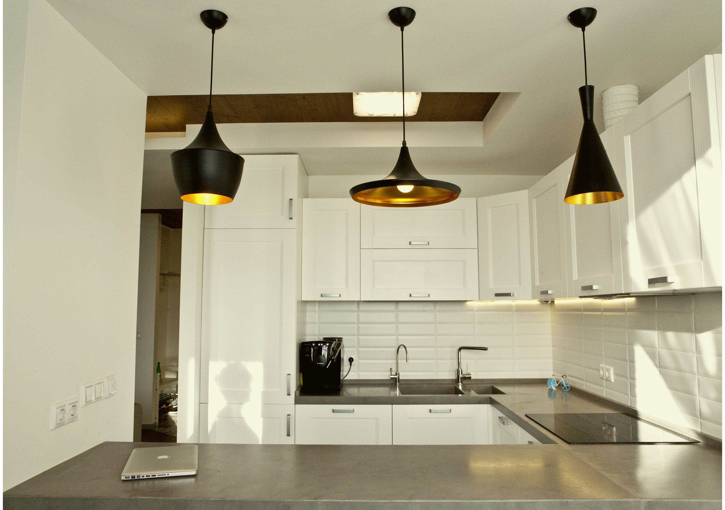 Copy of Contemporary L-shaped kitchen interior