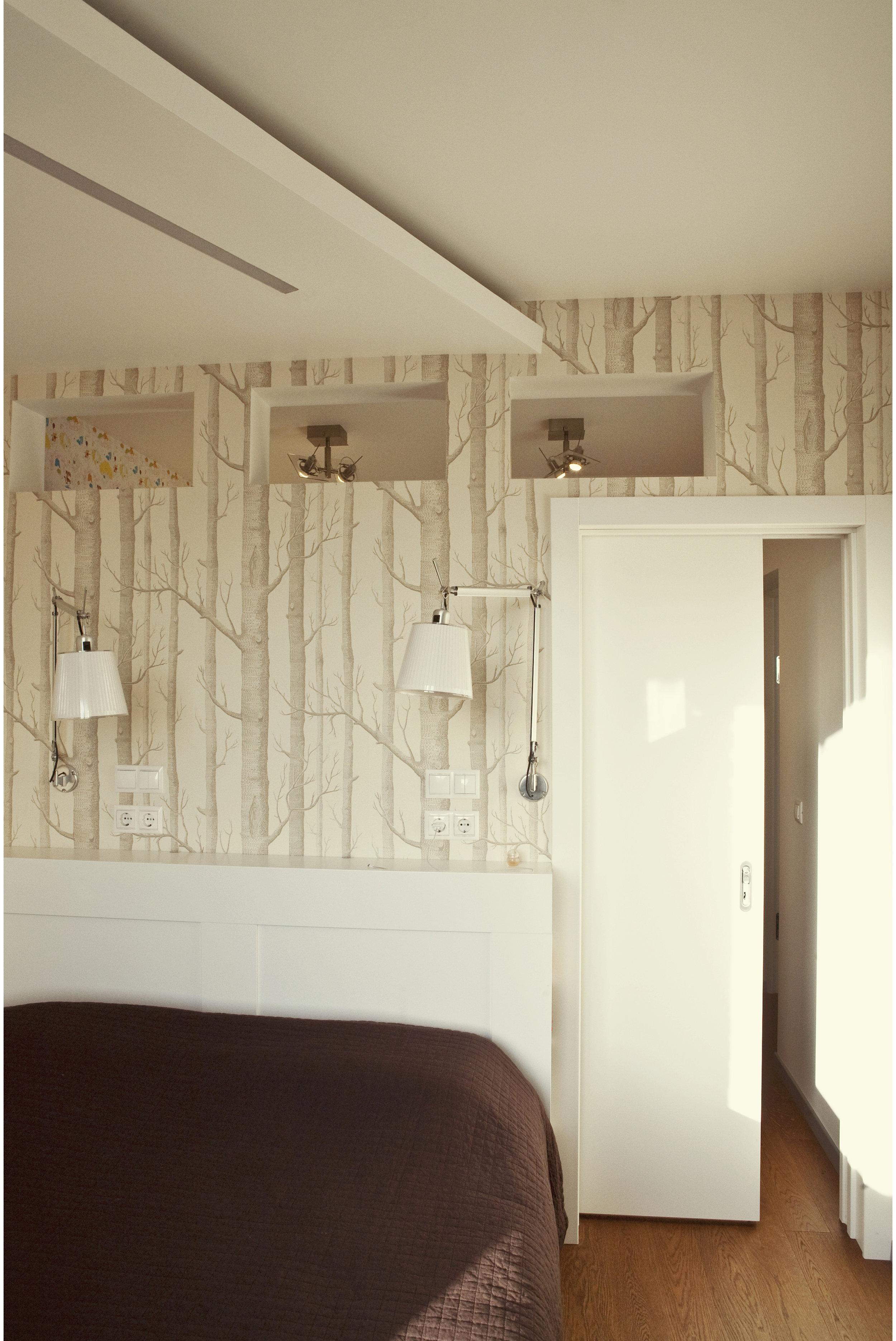 Copy of Contemporary small bedroom interior
