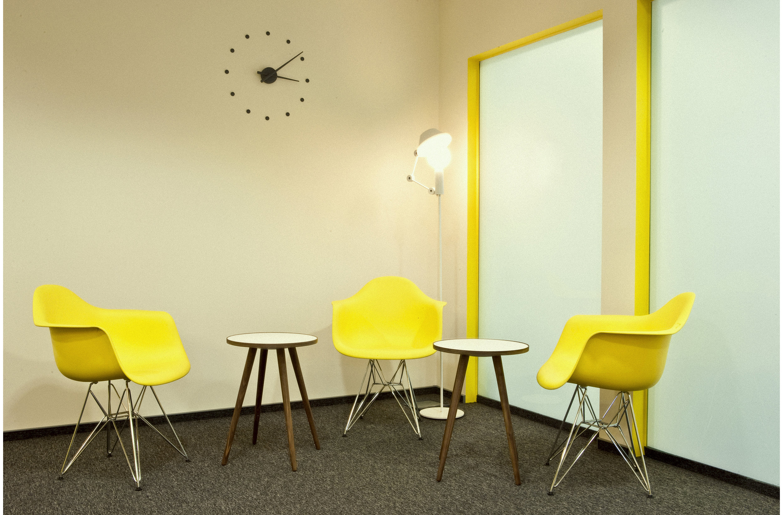Small conference room interior