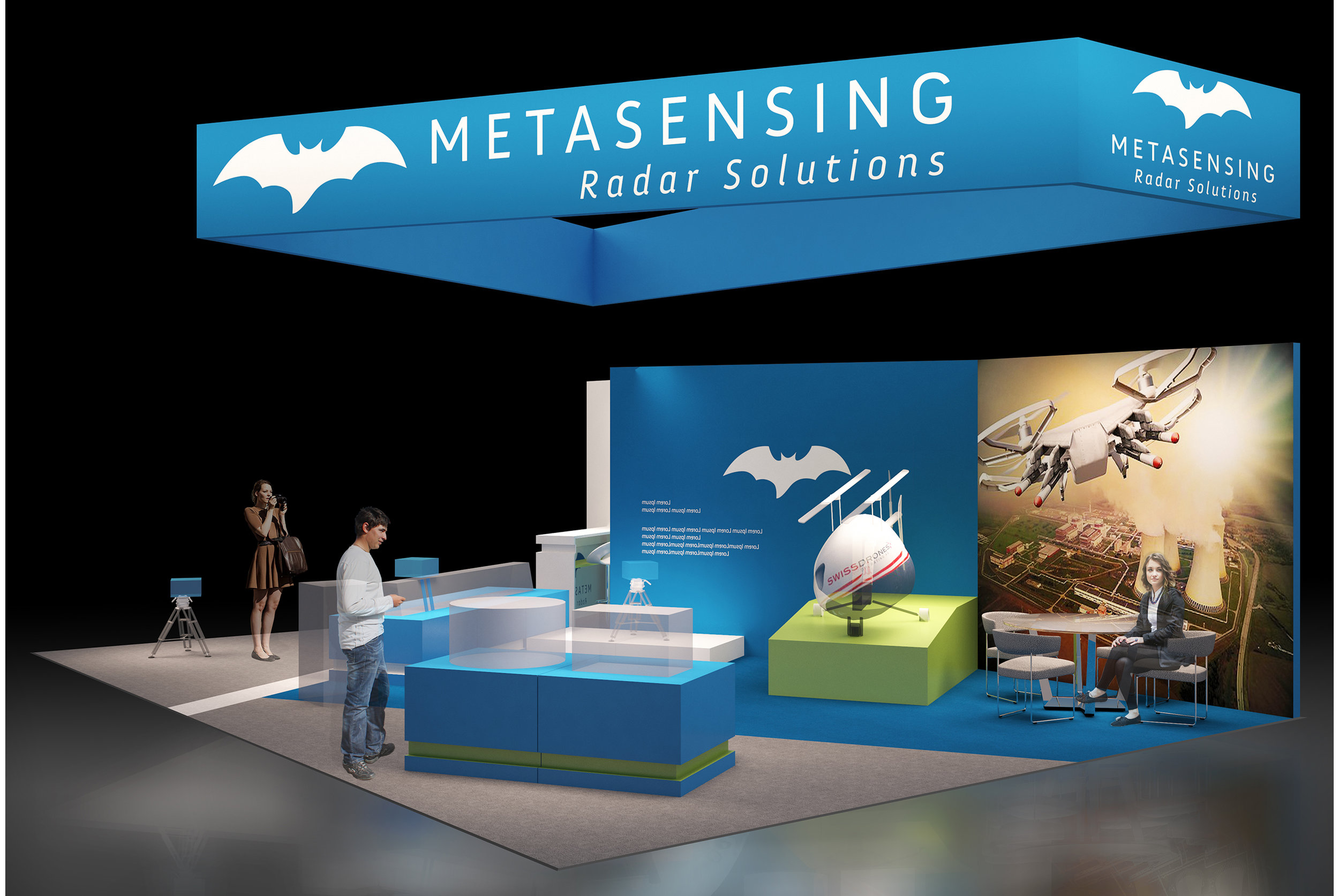 Custom stand design for Metasensing Radar Solutions