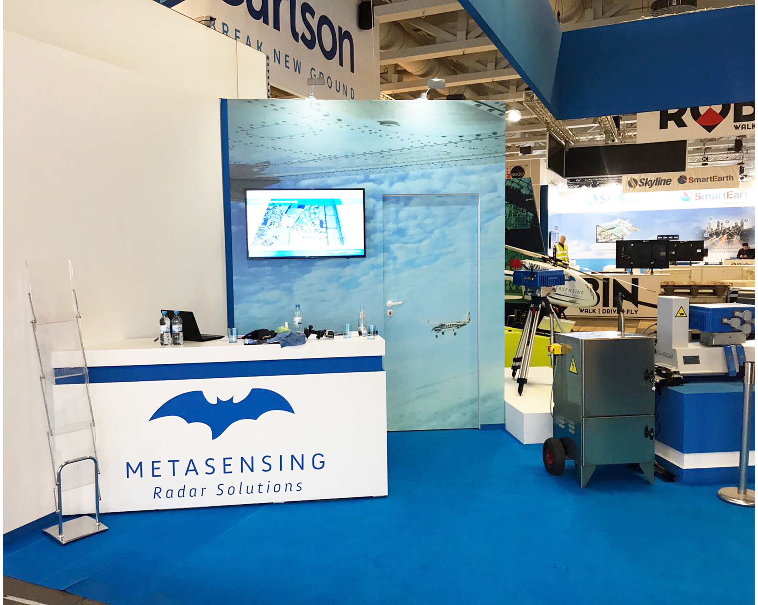 Metasensing Radar Solutions stand for INTERGEO 2017