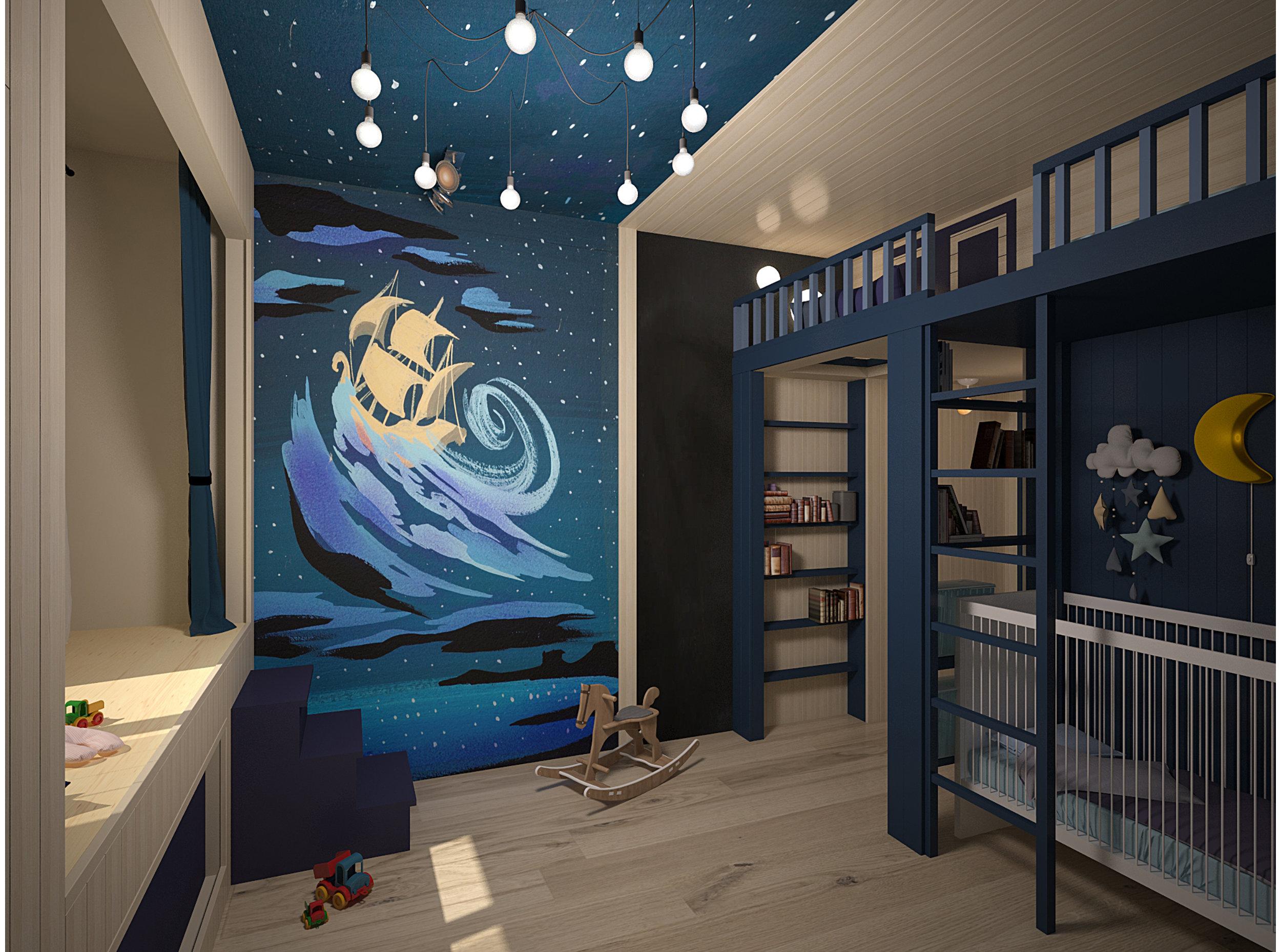 Copy of Boys bedroom.