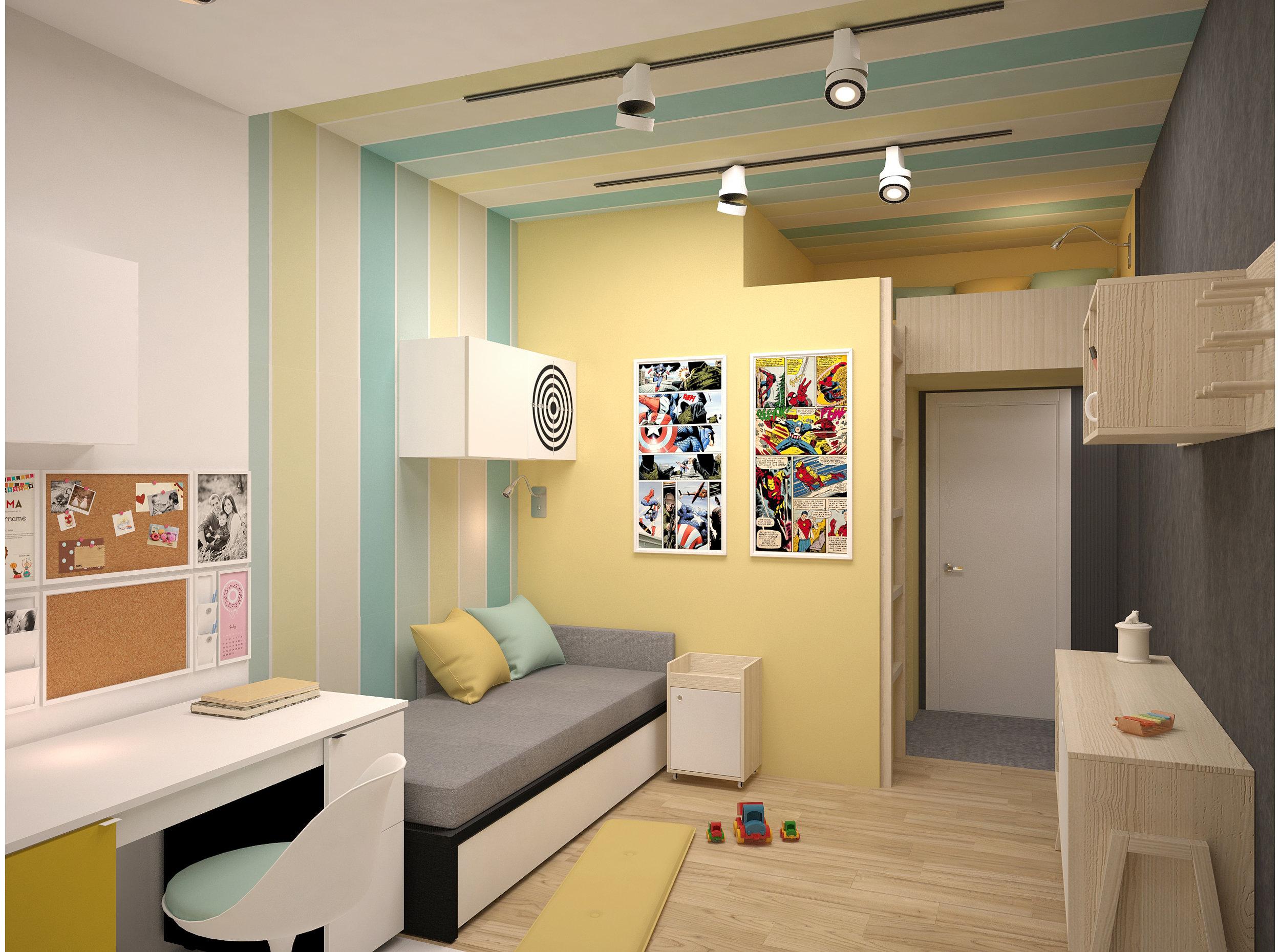 Copy of Bright boys bedroom