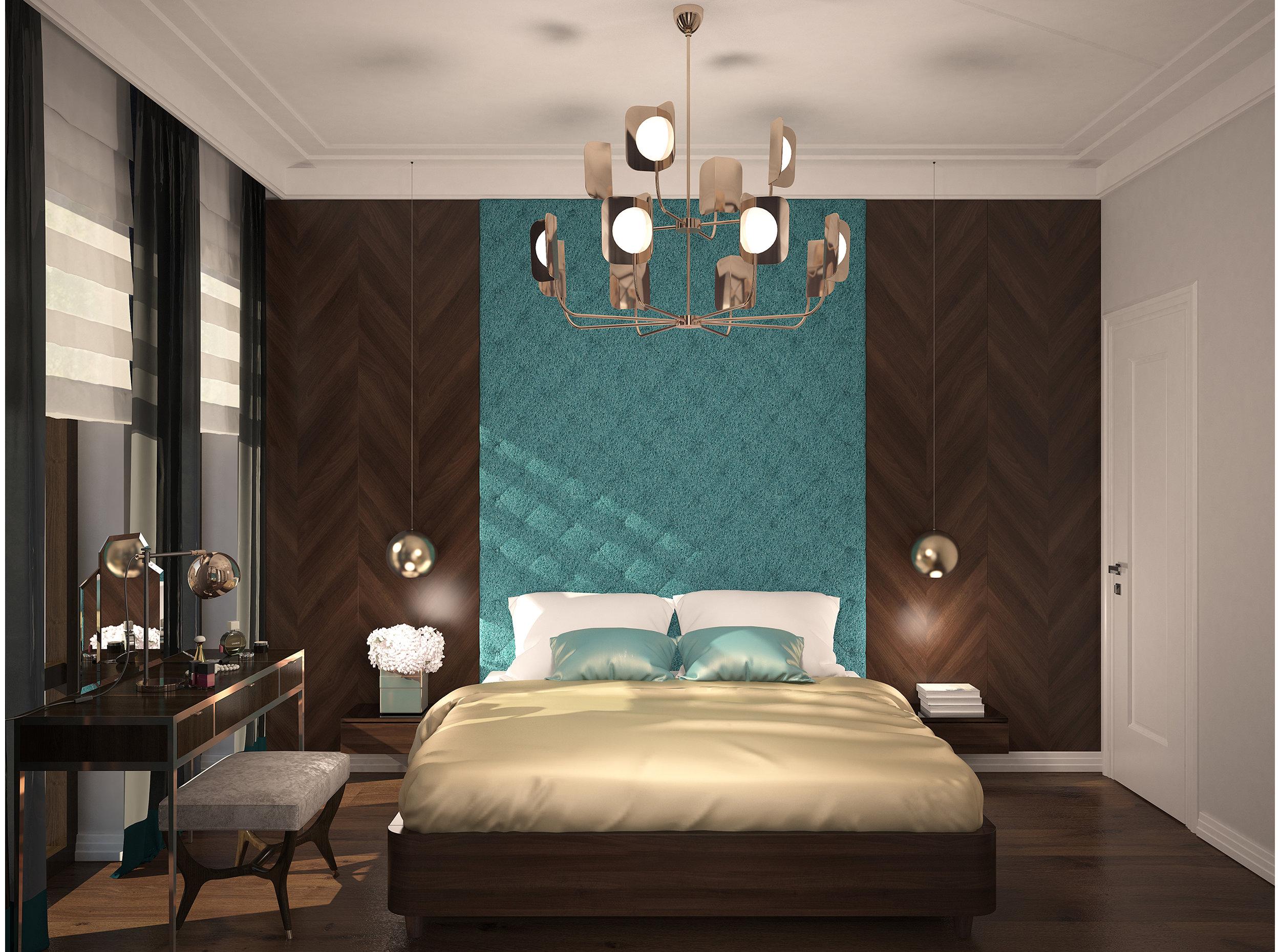 Copy of Bedroom interior art deco style