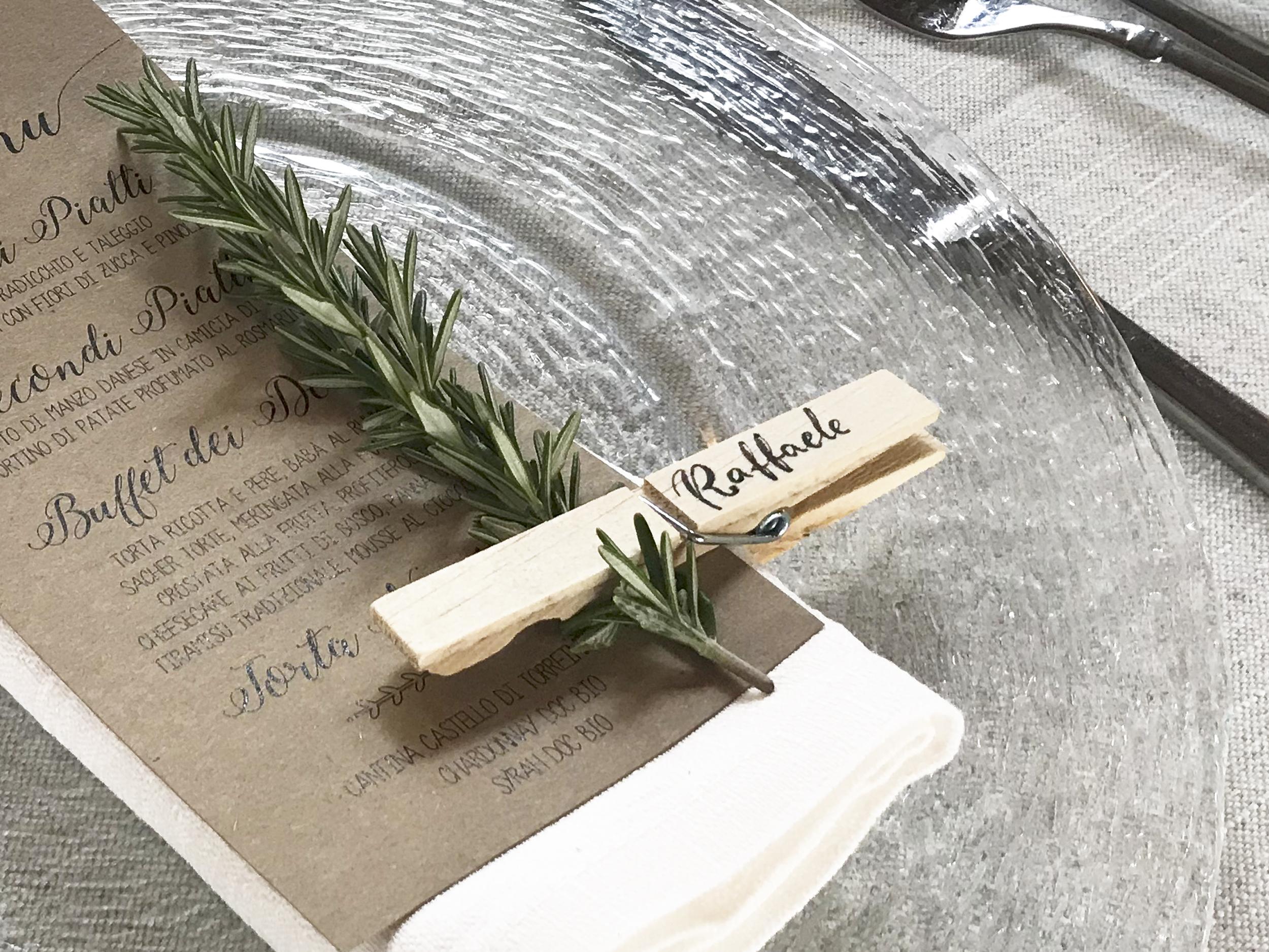 Calligrafia matrimonio