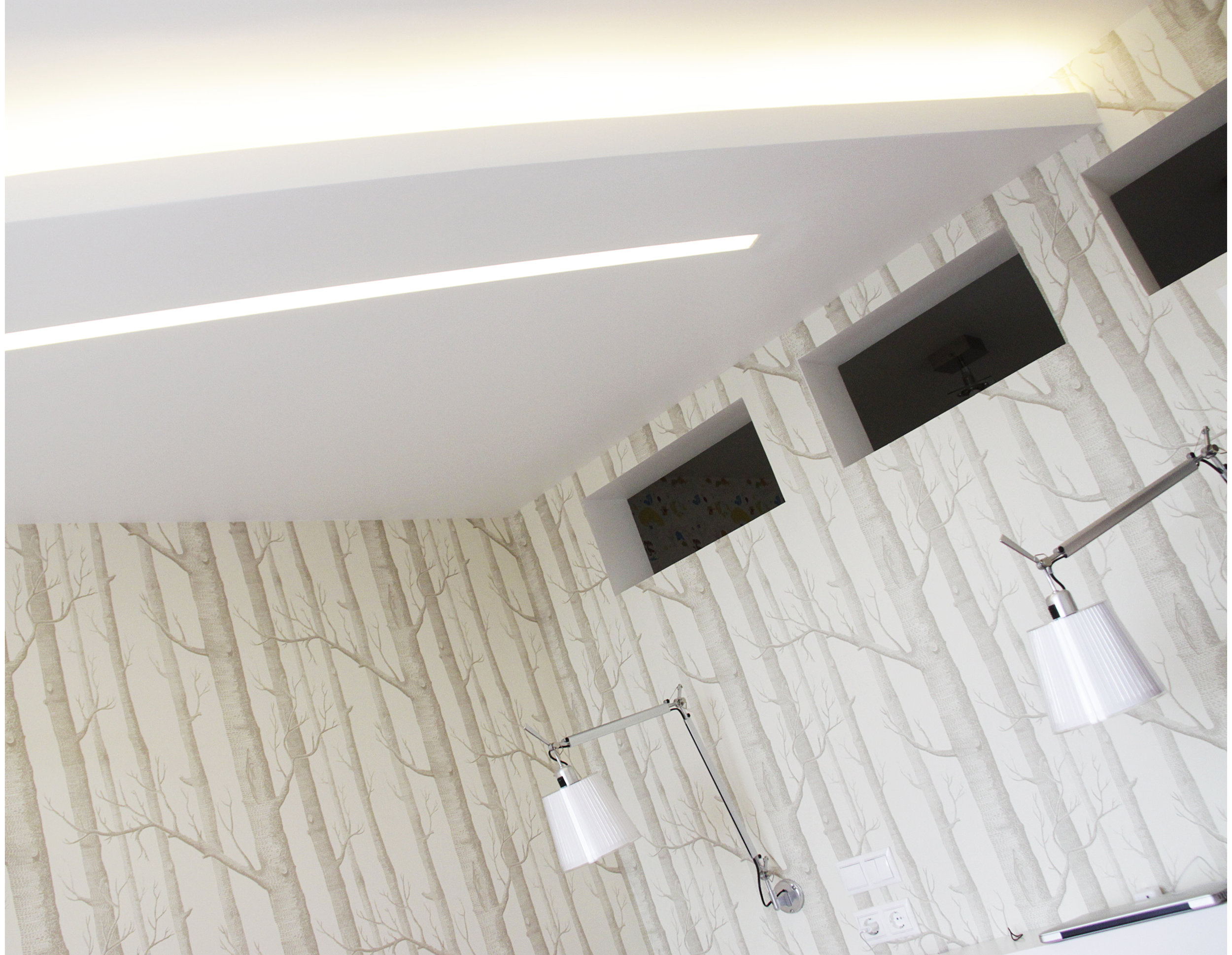 Copy of Suspended ceiling with decorative LED lighting