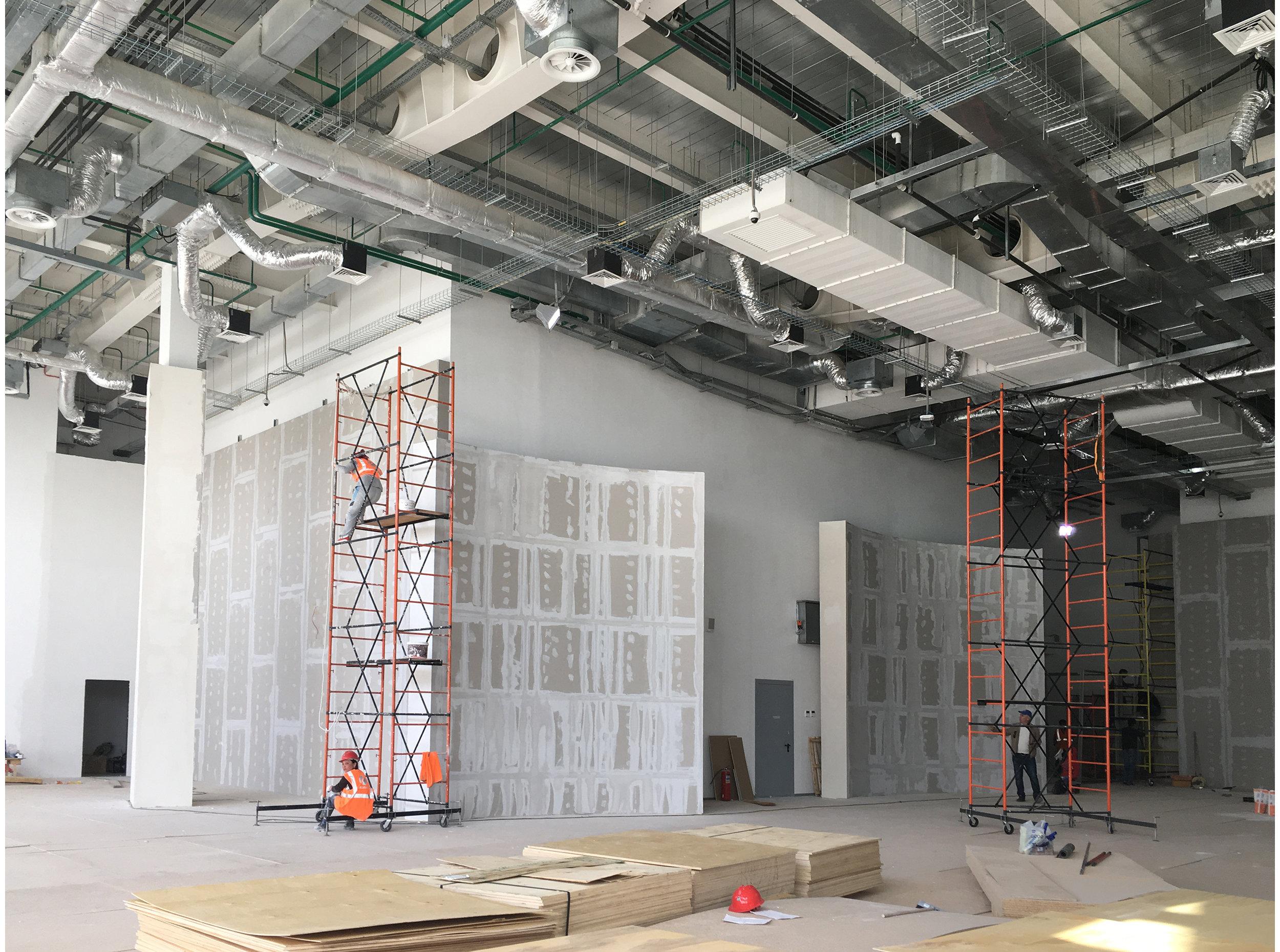 Argentina Pavilion EXPO Astana-2017. Construction phase