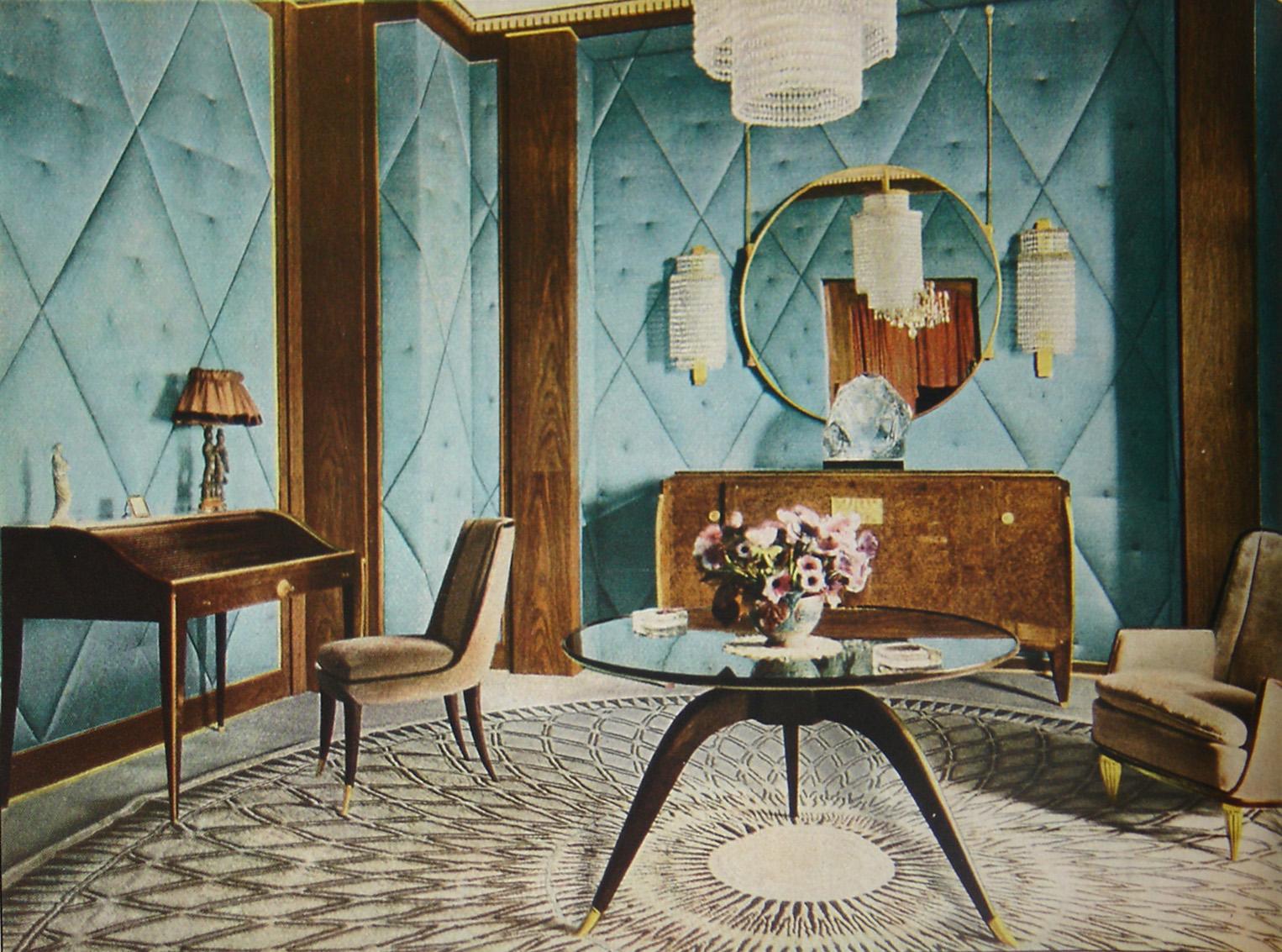 Мебель в стиле Ар Деко дизайнера Émile-Jacques Ruhlmann