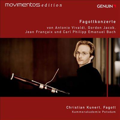 Fagottkonzerte mit Christian Kunert