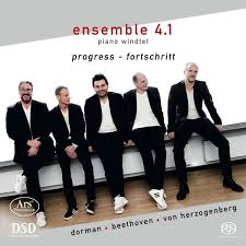 "Ensemble 4.1 piano windtet: ""progress - fortschritt"""