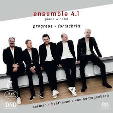 """Ensemble 4.1 piano windtet: """"progress - fortschritt"""""""