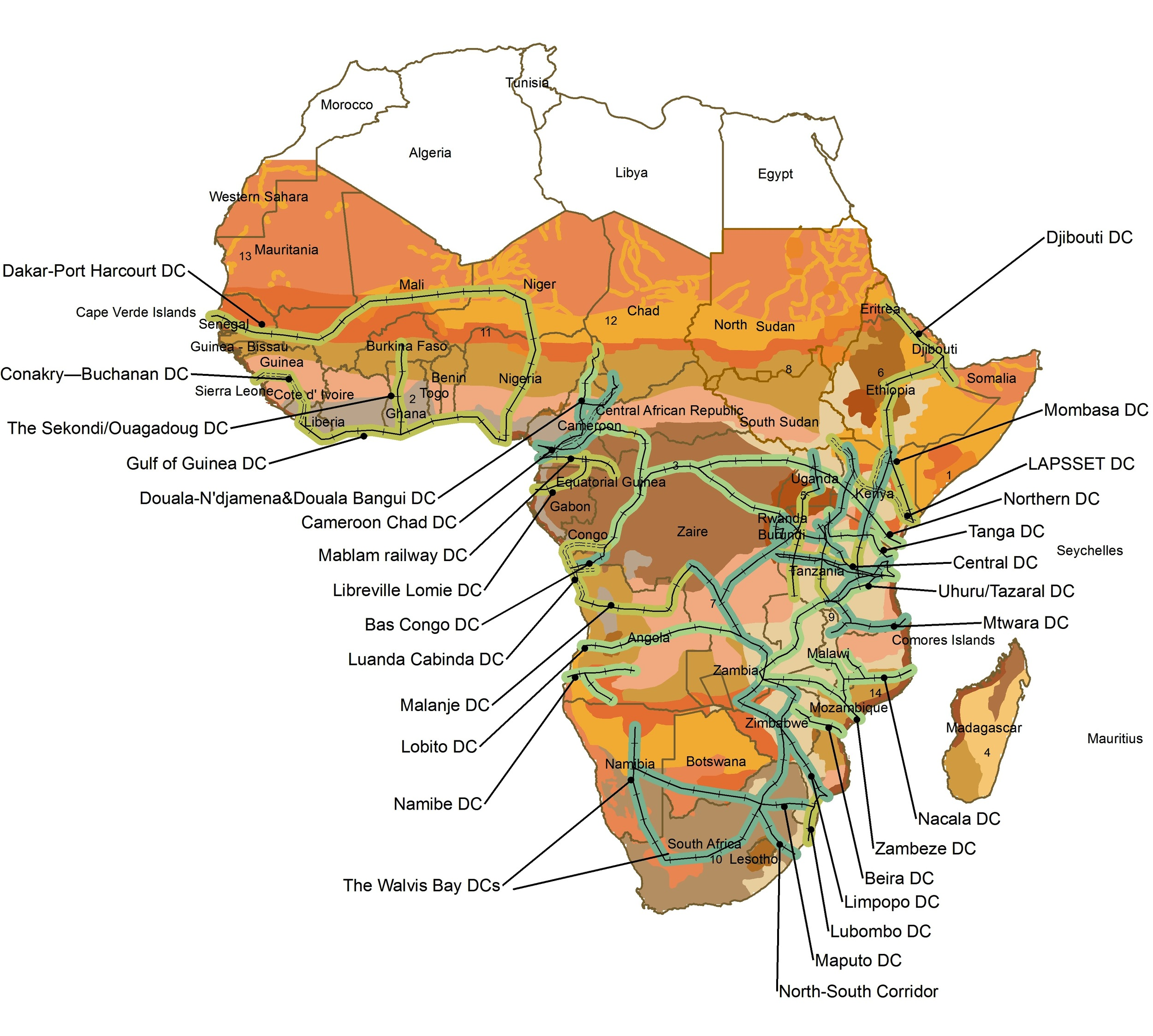 """Development corridors"" driven by mining could open up Africa to massive exploitation."