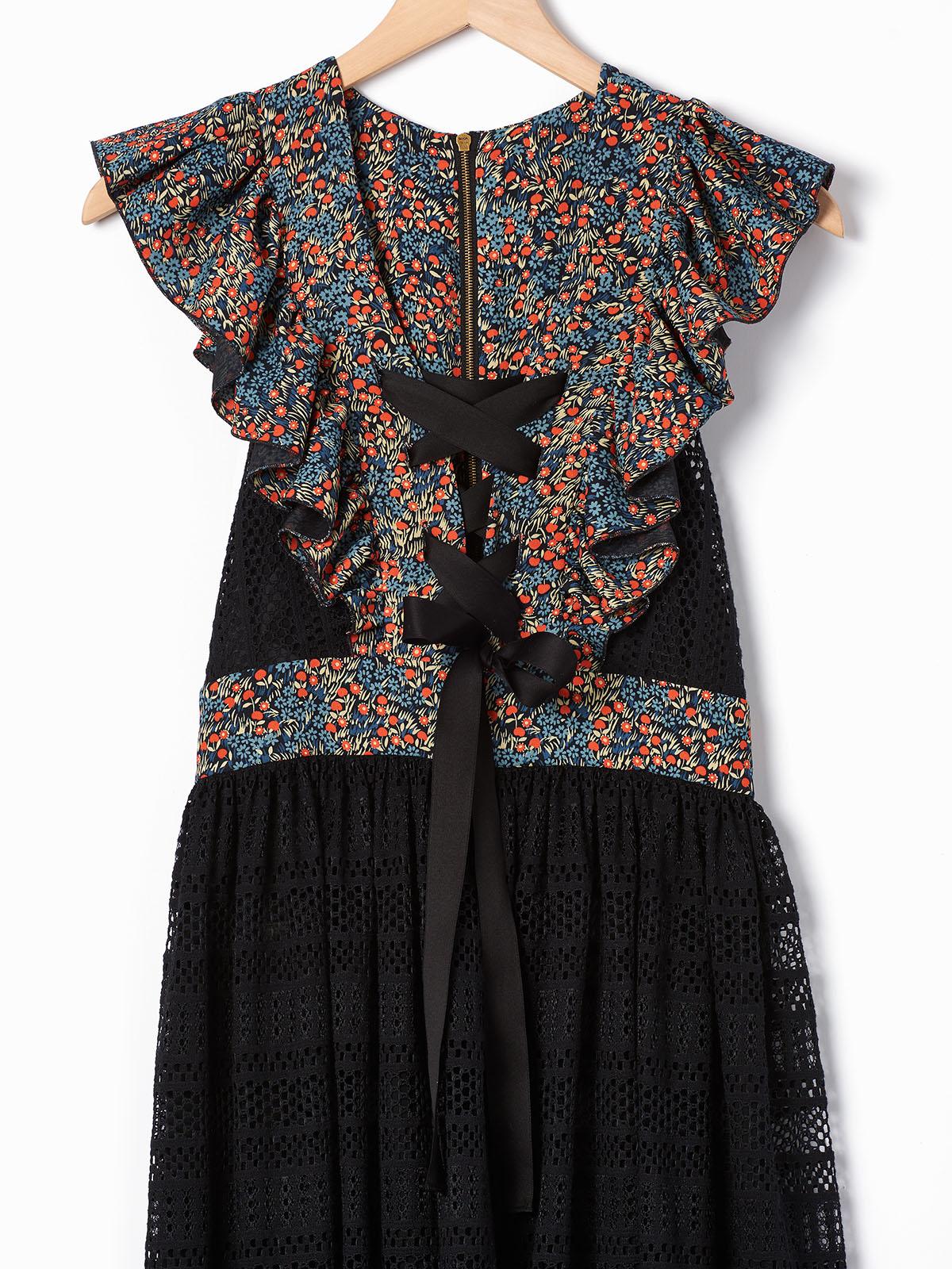 French_Italian_Philosophy_Lorenzo_Serafini_Lace_Cotton_Lace_Up_Dress_03.jpg